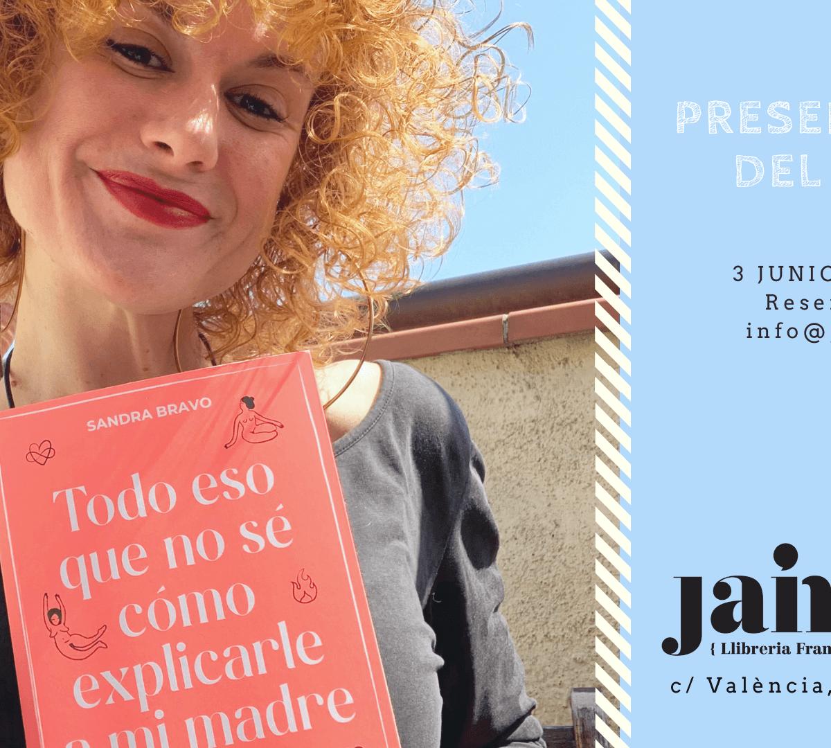 Sandra Bravo librería Jaimes
