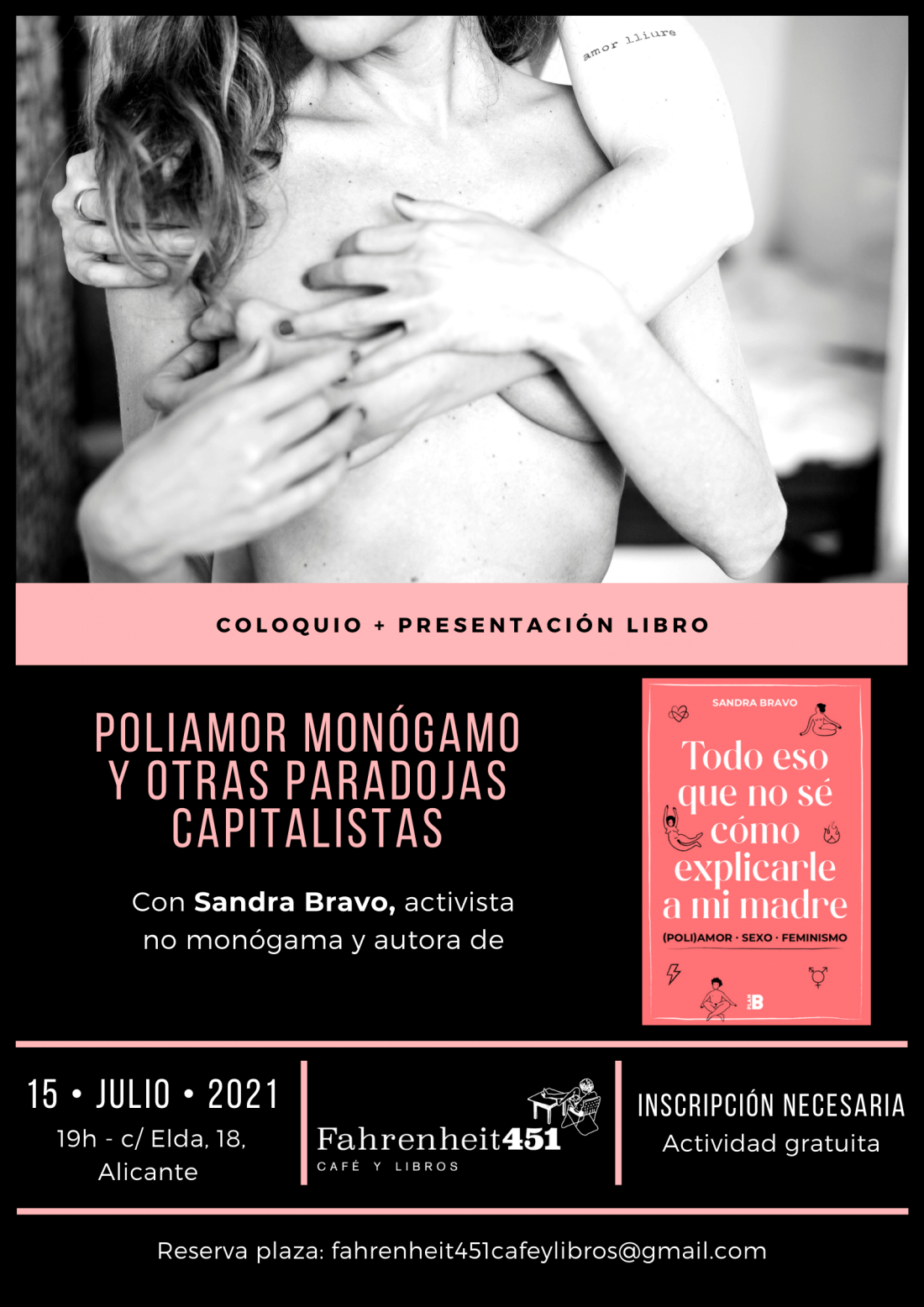 Sandra Bravo poliamor Alicante