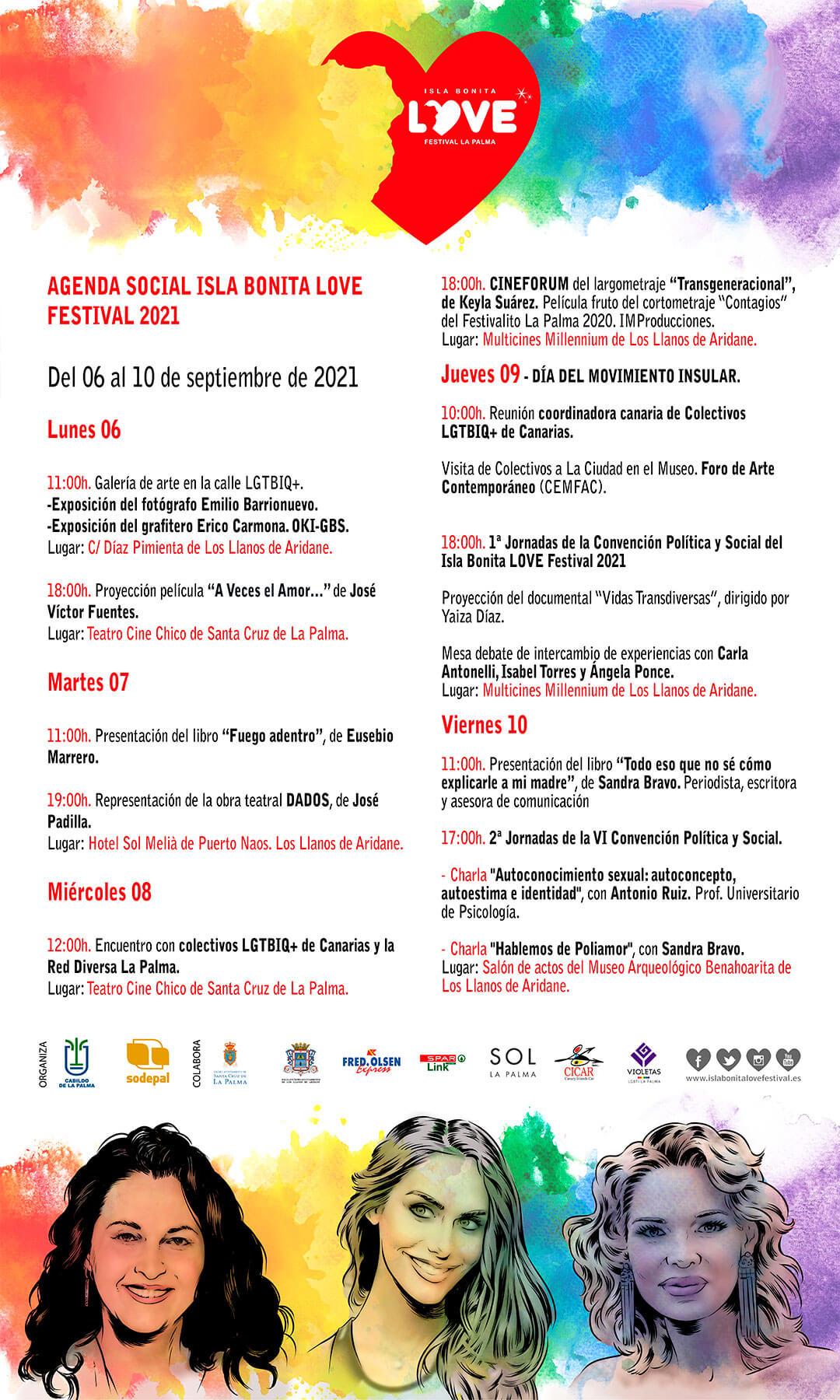 Isla Bonita Love Festival Sandra Bravo